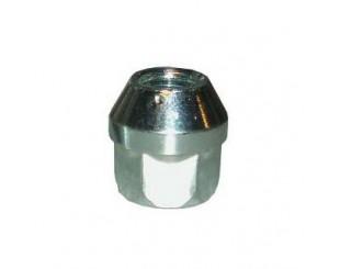 Ecrou de roue conique acier bichromaté 12x125
