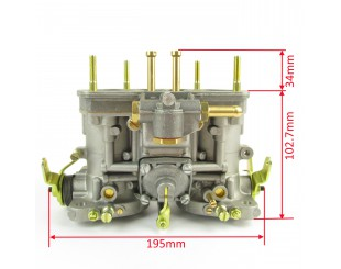 Carburateur Weber 48 IDF (avec starter)
