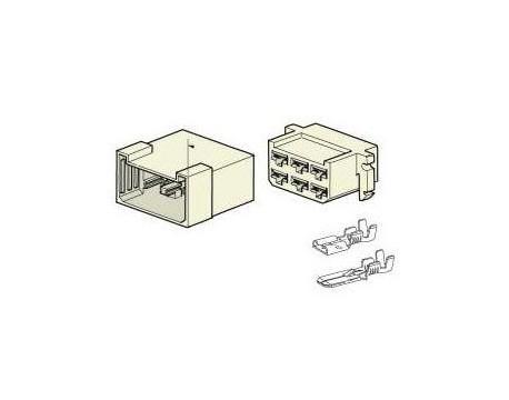 Connecteur électrique 6 voies