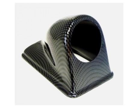 Support de manomètre 52mm type carbone