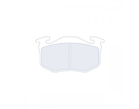 Plaquettes CL Brake RC5+ Arr 106/205/306/Saxo/Clio/GT Turbo
