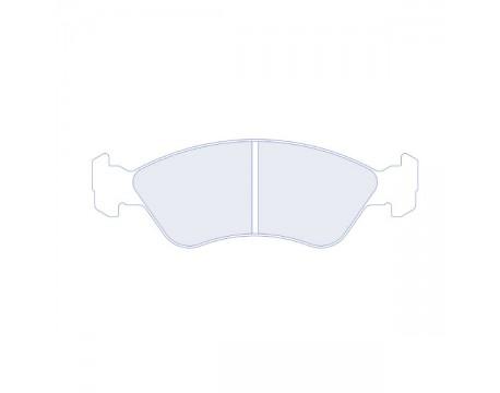 Plaquettes CL Brake RC6 Kadett 2.0L/Vectra 2.0l/Astra GSI