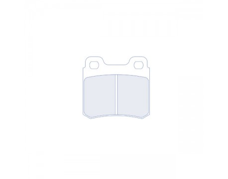 Plaquettes CL Brake RC6 Kadett 2.0l 16s/Astra GSI/Calibra turbo 2.5l