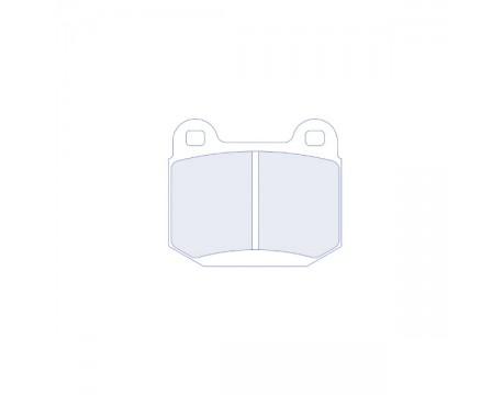 Plaquettes CL Brake RC6 Mistu Evo 5,6,7,8/Subaru STI/WRX/Opel Speedster