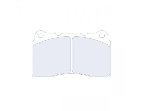 Plaquettes CL Brake RC6 Mitsu Evo 5,6,7,8/Subaru  STI,WRX/ C2 S1600