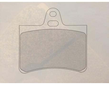Plaquettes CL Brake RC6 Citroên Visa (étrier alu 2 pistons)
