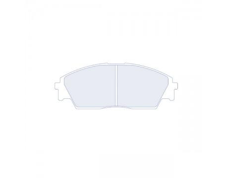 Plaquettes CL Brake RC6 Honda Civic 1600 16s/ Accord 2.2L 16s