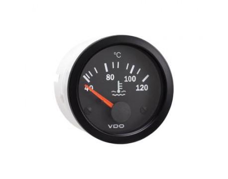 Manomètre de température d'eau 120° VDO