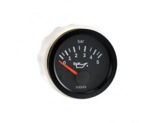 Manomètre de pression d'huile 5 bars VDO