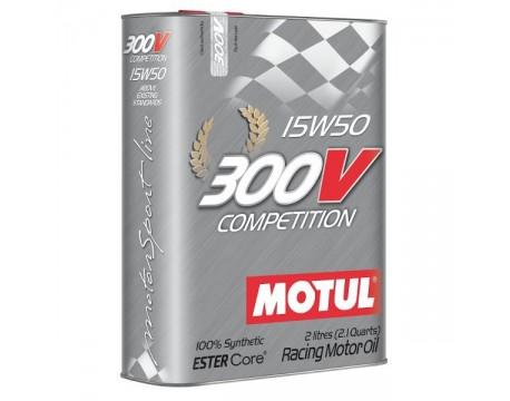 Huile moteur Motul 300V 15w50 2L