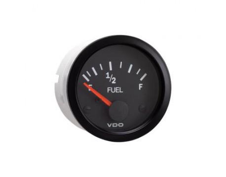 Manomètre de niveau d'essence tubulaire VDO