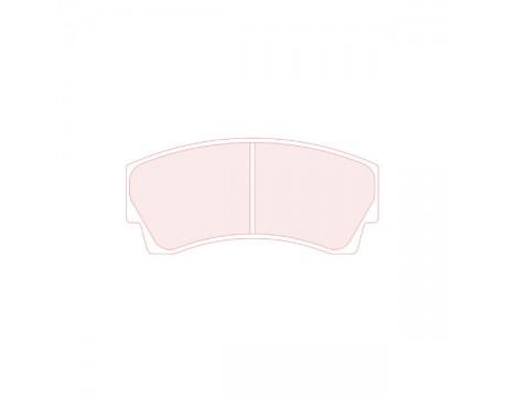 Plaquettes CL Brake RC6 CP3345 / Alcon CLH304