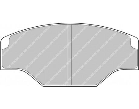 Plaquettes Ferodo Racing CP2340D51