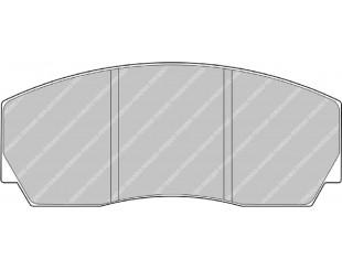 Plaquettes Ferodo Racing CP3215D50