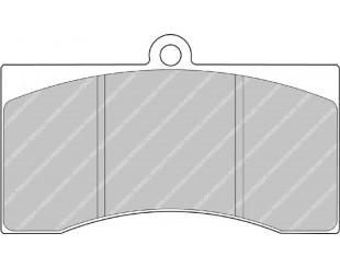 Plaquettes Ferodo Racing CP3714D54