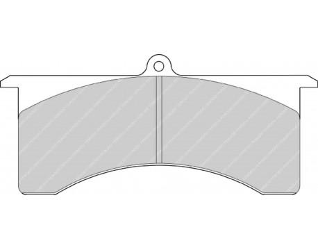 Plaquettes Ferodo Racing CP5805D45 / Wilwood