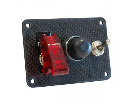 Console de démarrage moteur Carbone