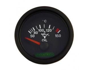 Manomètre de température d'huile Racetech