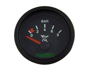 Manomètre de pression d'huile Racetech