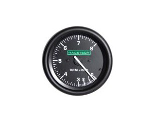 Compte tours Racetech 8000trs 80mm