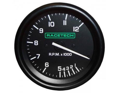 Compte tours Racetech 12000trs 80mm