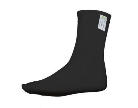 Chaussettes anti-feu mi-longues OMP noires  FIA