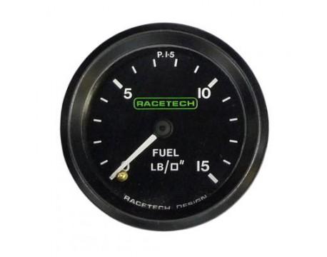 Manomètre de pression d'essence basse pression Racetech