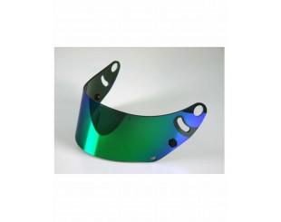 Visière Arai GP6 iridium bleu/vert