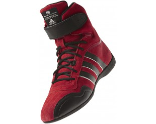 Bottines Adidas Feroza rouge Fia