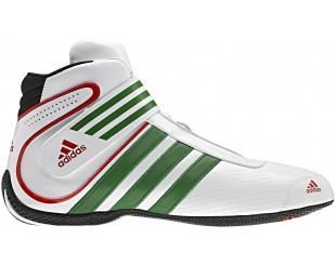 Bottines Adidas Daytona Karting blanche/verte