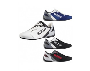 Chaussure Sparco Time 77 cuir blanche