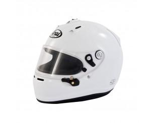 Casque Arai GP6 Hans blanc